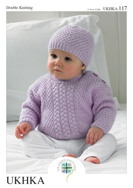 Sweaters, Hat and Scarf in King Cole DK - UKHKA117pdf - Downloadable PDF