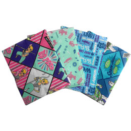 Visage Textiles Bo Peep Fat Quarter Bundle - Multi