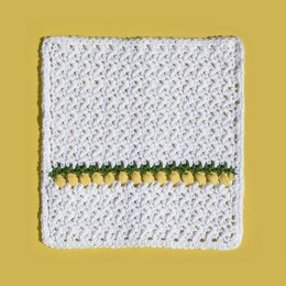 Lemon Drops Washcloth