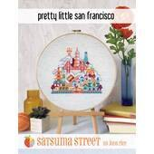 Satsuma Street Pretty Little San Francisco Cross Stitch Chart -  Leaflet