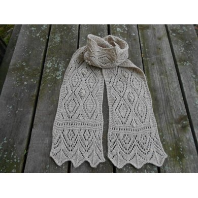 Highland Mists Lace Scarf