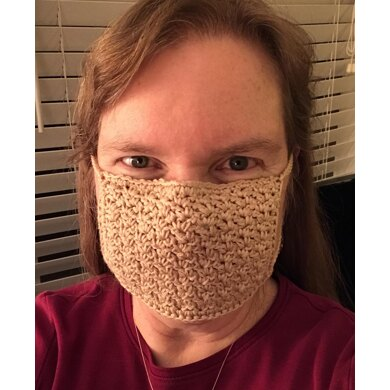 EASY Crochet Face Mask with Filter Pocket
