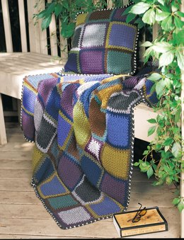 Rustic Patchwork in Patons Decor