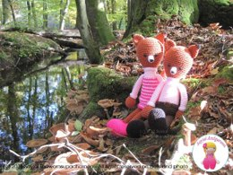 Mr and Mrs Fox Amigurumi Crochet Patterns