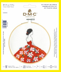 DMC Cross Stitch Kit - Carmel - 25cmx25cm