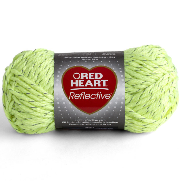 Knitting Patterns For Red Heart Reflective Yarn : Red Heart Reflective Crochet Yarn & Wool LoveCrochet