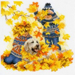 Riolis Autumn Holidays Cross Stitch Kit - R1694