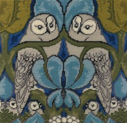 DMC The Owl by Charles Voysey Tapestry Kit - 35 x 35cm