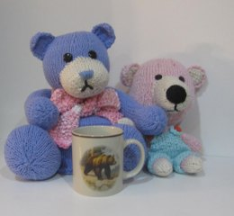 Two Bears - Tea Cozy & Knitkinz