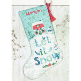 Dimensions Holiday Home Cross Stitch Stocking Kit