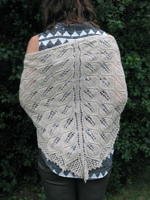 Anna's Shawl with Beads
