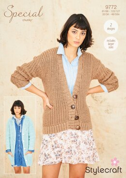 Cardigans in Stylecraft Special Chunky - 9772 - Downloadable PDF