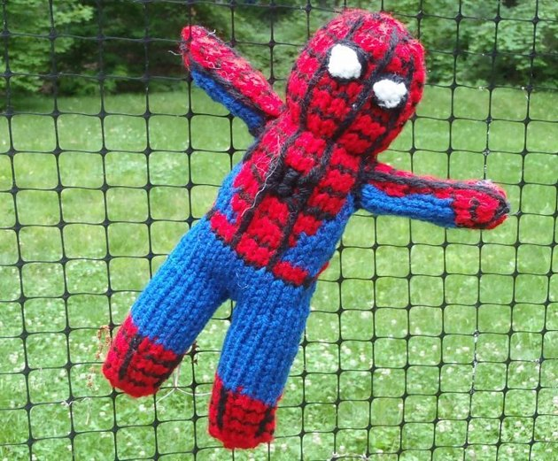Spiderman Toy Knitting Pattern By Stana D Sortor
