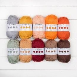 Paintbox Yarns Cotton DK 10 Colour Pack