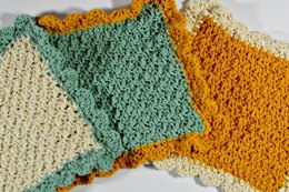Scalloped Edge Dishcloth