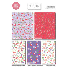 Craft Cotton Company Cute Florals Fat Quarter Bundle - Multi