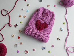 Children's Valentine's hat