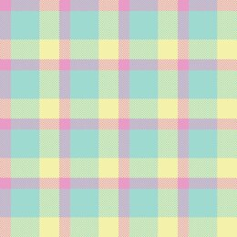 Craft Cotton Company Novelty Easter - Multi Check