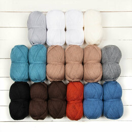 Stylecraft Ross Blanket CAL - Special DK 16 Ball Color Pack