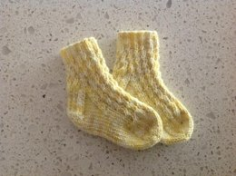 Lemon Drop Socks