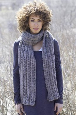 Trails Scarf in Tahki Yarns Montana
