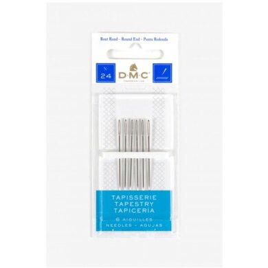 DMC Size 24 Tapestry Needles(6)