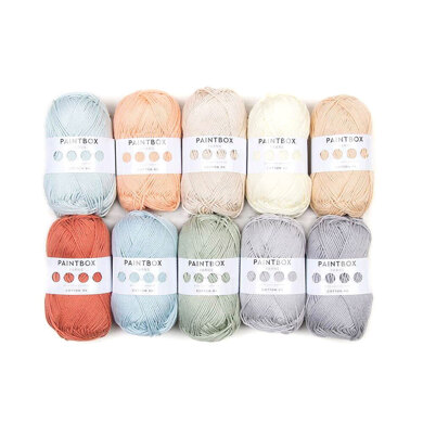 Paintbox Yarns Cotton DK 10 Ball Colour Pack