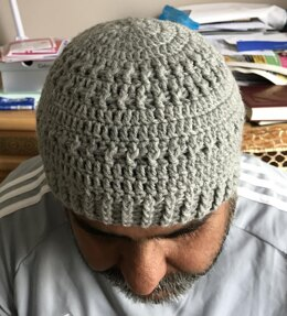Simple Blue Beanie