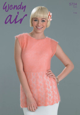 Lace Top in Wendy Air - 5724