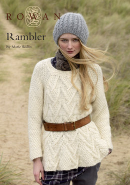 Rambler Sweater in Rowan Cocoon