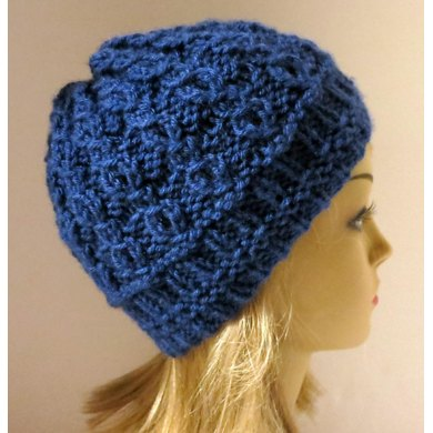 Isobel - A Mock Cable Hat