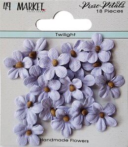 49 And Market Pixie Petals 18/Pkg - Twilight