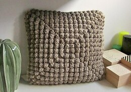 Bobbles in the Puff Pillow Pattern