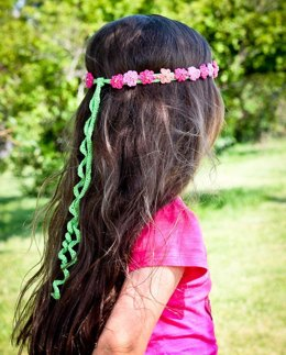 Summer Girl - crocheted headband