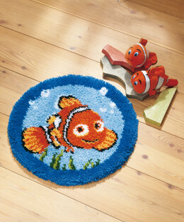 Vervaco Disney Nemo Latch Hook Rug Kit