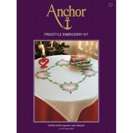 Anchor Lingonberry Tablecloth Freestyle Embroidery Kit