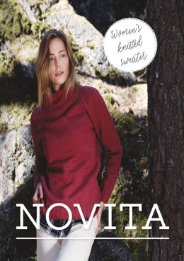 Women's Knitted Sweater in Novita Nalle - 10 - Downloadable PDF