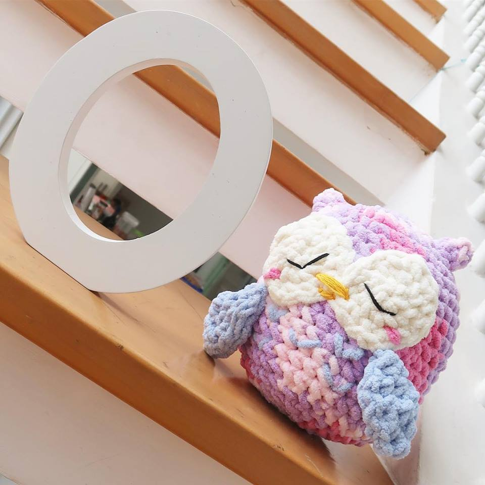 how to craft ladders olivander the owl crochet project by missbananacrafts 4716