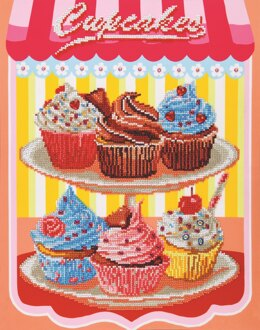 Diamond Dotz Cupcakes Diamond Painting Kit