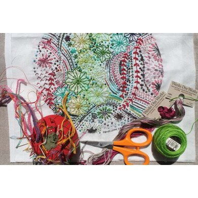 Dropcloth Samplers Milky Way Embroidery Kit