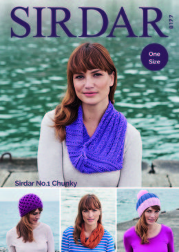 Accessories in Sirdar No.1 Chunky  - 8177 - Downloadable PDF