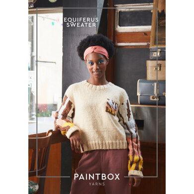 Equiferus Sweater  in Paintbox Yarns - Downloadable PDF