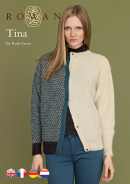 Tina Cardigan in Rowan Kid Classic