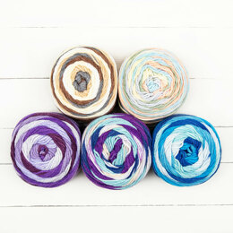 Paintbox Yarns Chunky Pots 5 Ball Color Pack