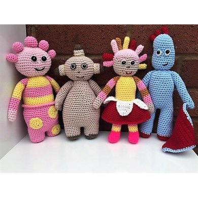 In The Night Garden Amigurumi Crochet Pattern By Christine Gibson