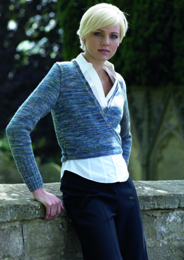 Harriet Cardigan in Araucania Ranco