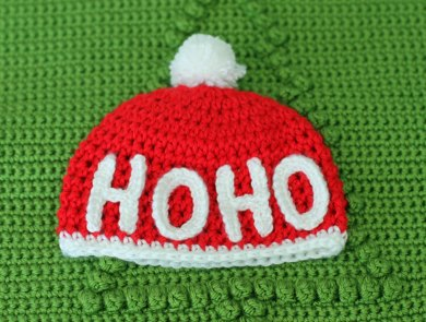 Ho Ho Christmas Hat