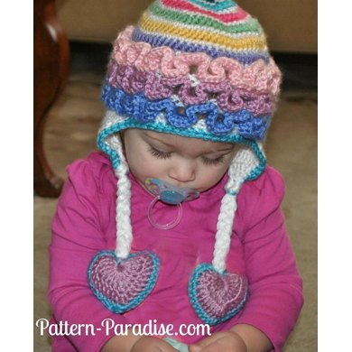 Ruffled Hat PDF12-082