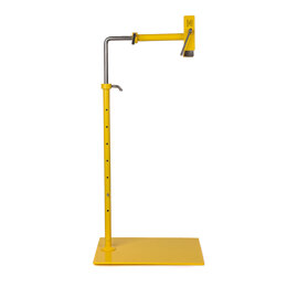 Lowery Exclusive Lemon Yellow Workstand with Side Clamp (Powder Coated)