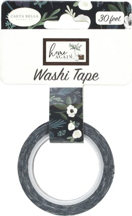 Echo Park Paper Carta Bella Home Again Decorative Tape 30' - Farmhouse Floral